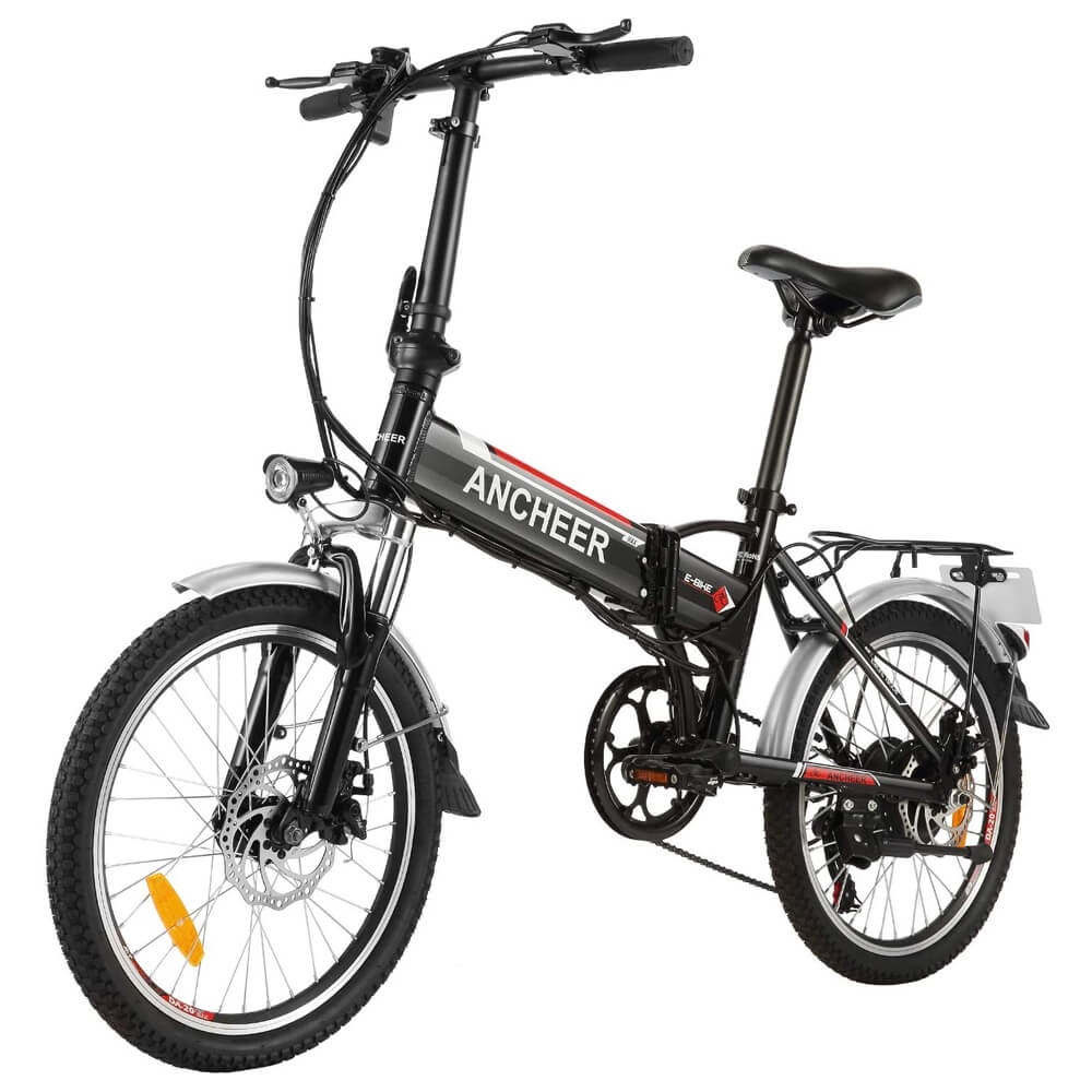 Ancheer 20 Inch Folding City Commuter Electric Bike