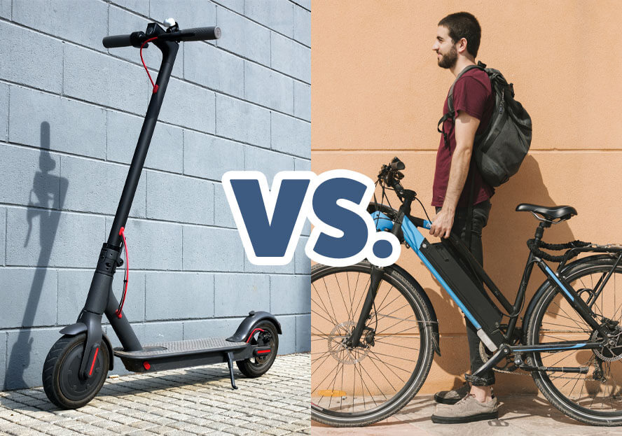 Electric Scooter vs. Electric Bike – Which Should You Buy